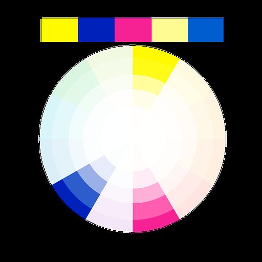 Schema Dei Colori Complementari Divergenti